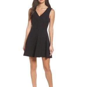Felicity & Coco Fit and Flare Black Dress M